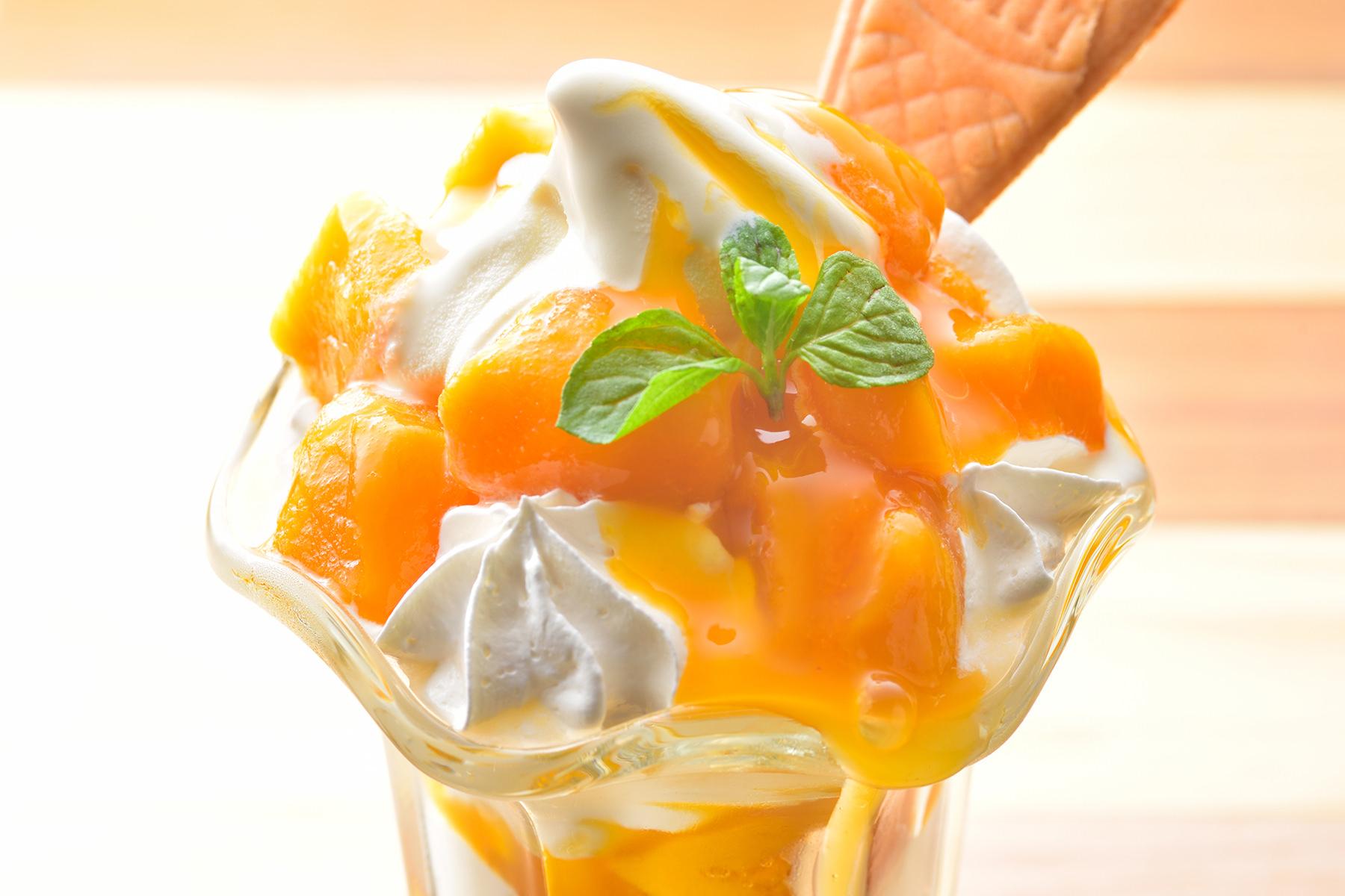 マンゴーソフトクリーム