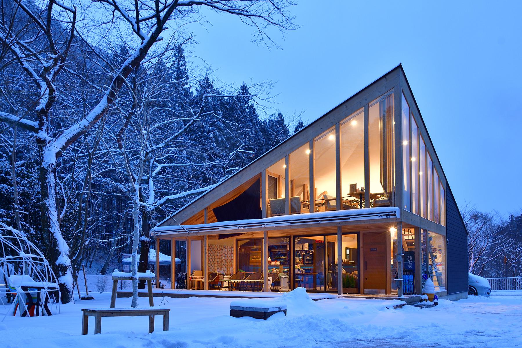 冬-1 雪の全景